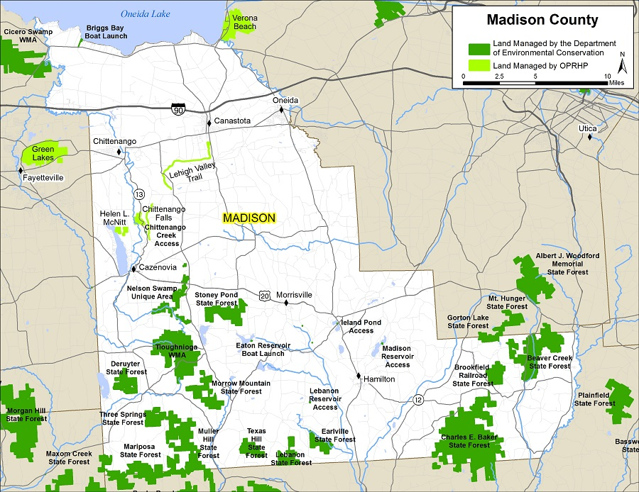 Madison County Map NYS Dept of Environmental Conservation