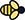 bee icon showing tree species acts as a feeder for pollinators