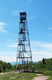 Overlook fire tower