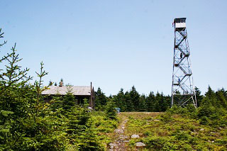 Hunter Mountain Fire Tower and Cabin