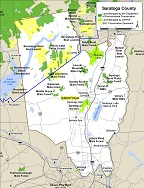thumbnail of Saratoga County map