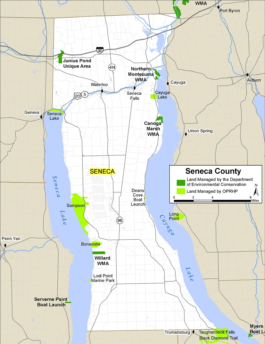 Seneca County Map - NYS Dept. of Environmental Conservation
