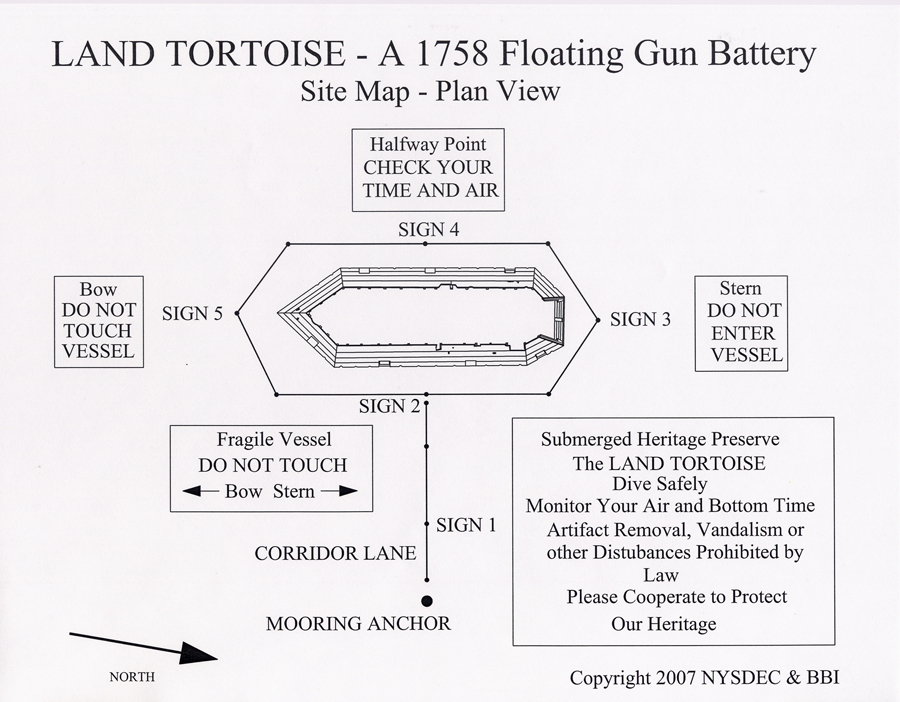 The LAND TORTOISE Site Map