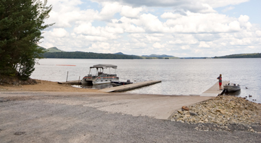 Stillwater Reservoir boat launch