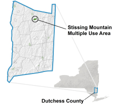 Stissing Mountain MUA locator map