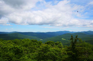 View from Red Hill Fire Tower