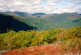 View from Hoopole Mountain near Ashokan High Point