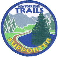 Image of a New York StateTrails Supporter Patch