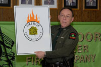 ECO presenting Firewise Communities award
