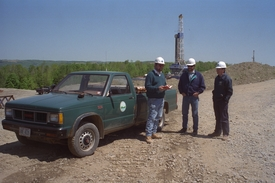 Avoca natural gas storage project drilling