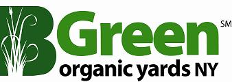 Graphic of the Be Green organic yards NY service mark
