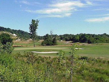 Town of Hempstead's Morewood Property Mine after reclamation, now a public golf course.