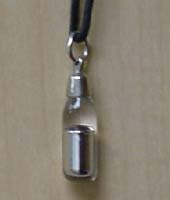 picture of a necklace containing mercury