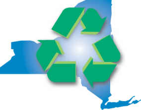 NYS with recycling arrows