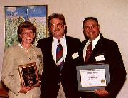 Mr. & Mrs. Tracy receive reclamation award
