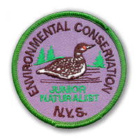 Original Jr Naturalist Patch, Loon 1997