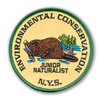 Jr Naturalist Patch 1998, Beaver, the State Mammal