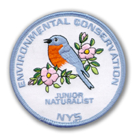 Jr Naturalist Patch 1999, Bluebird, the State Bird