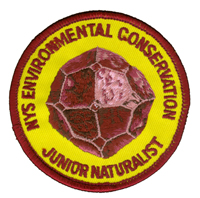 Jr Naturlist Patch 2003, Garnet, the State Gem