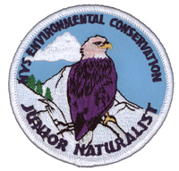 Jr Naturalist Patch 2004, Eagle