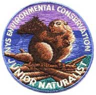 Jr Naturalist Patch 2005, Beaver, the State Mammal