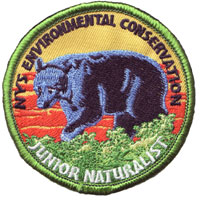 Jr Naturalist Patch 2006, the Black Bear