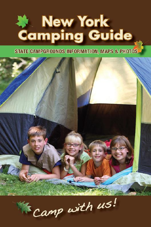 2013 NYS Campging Guide Cover