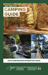 2017 NY State Camping Guide Cover