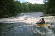 Kayak on the Grasse River