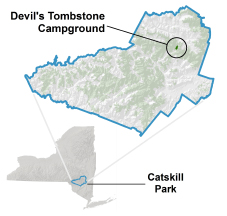 devils tombstone location map