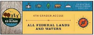 national park service 4th grader park pass