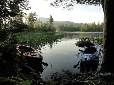 two kayaks in the shallow water & Lake Durant Campground u0026 Day Use Area - NYS Dept. of Environmental ...