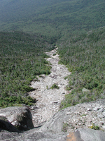 Whiteface Mountain - rock slide
