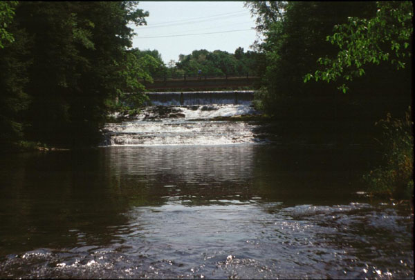 Wiscoy Creek cascade at Mills-Mills Formation