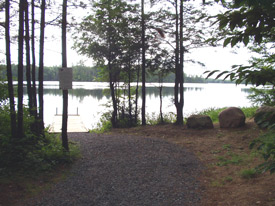 a view of Francis Lake
