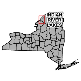 Map Of Indian River Lakes