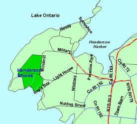 Map of Henderson Shores