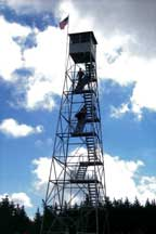 Photo of a fire tower
