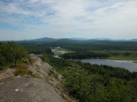 View from Hitchins Pond Overlook
