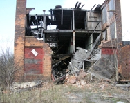 The former Power City Warehouse in Niagara Falls. DEC completed a site characterization and referred it to EPA for lead and asbestos abatement.
