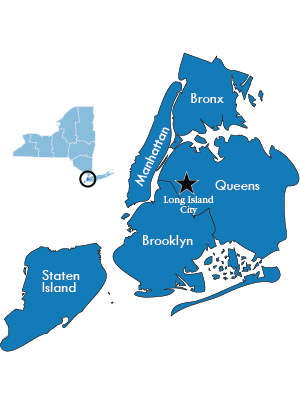 Map of DEC Region 2 New York City