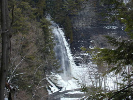 picture of rainbow falls