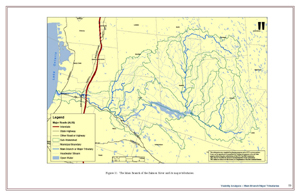Map of the Salmon River and Tributaries
