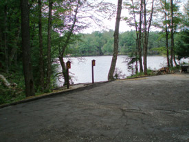 Accessible waterway trail at Soft Maple Reservoir