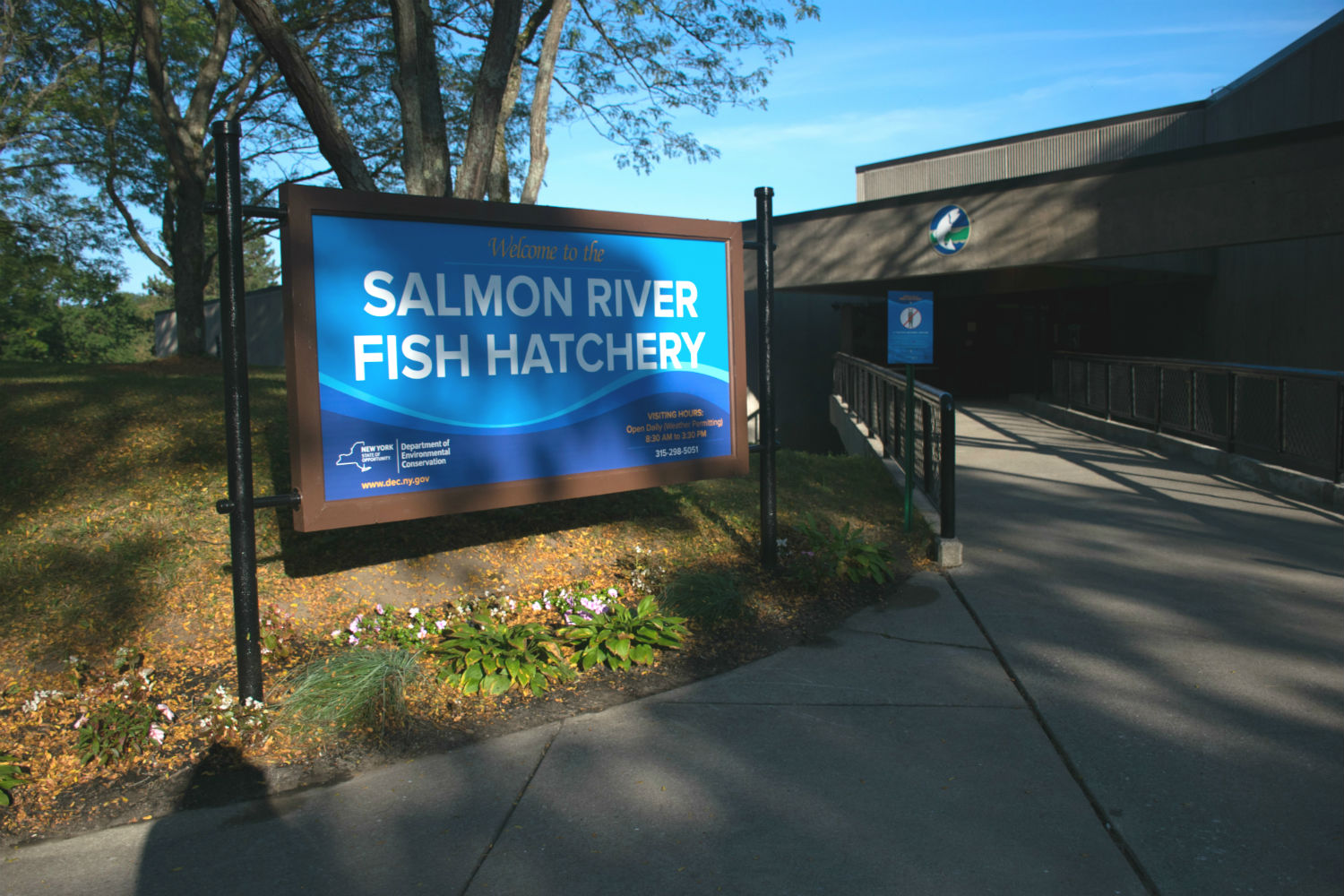 Salmon River Fish Hatchery - NYS Dept  of Environmental
