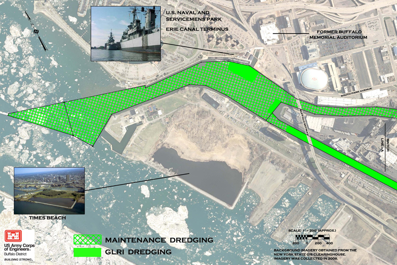Us Army Corps Of Engineers Glri Dredging Maps Nys Dept Of - Us-army-corps-of-engineers-district-map