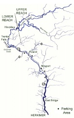 Small map of West Canada Creek