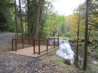 yatesville falls viewing platform
