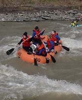Rafters enjoy Zoar Valley