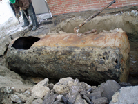 Leaking Underground Storage Tank removed from elementary school